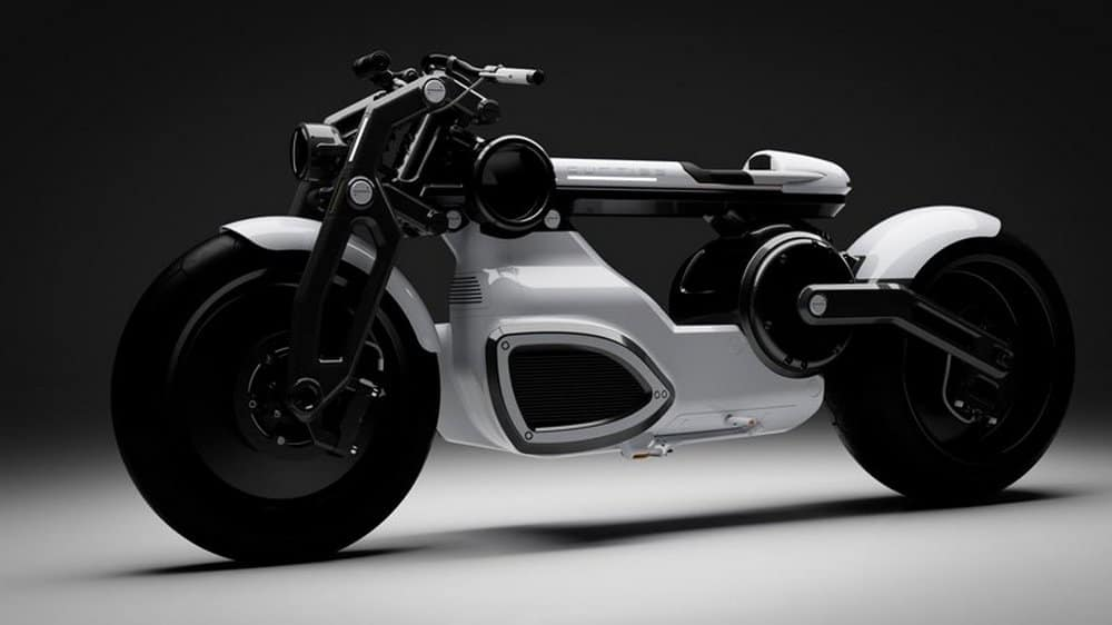 Curtiss Turns Zeus into a Futuristic, Electric Bobber Motorcycle