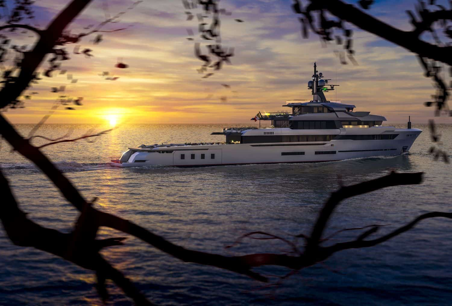 The 67m Explorer by VSY is the Newest Hot Lab Yacht
