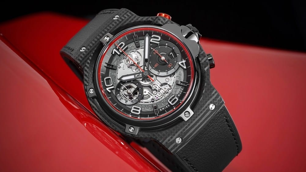 Hublot Classic Fusion Ferrari GT is the 'Grand Touring' of Watches