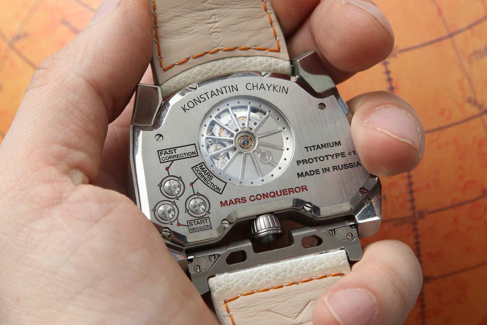 Konstantin Chaykin Mars Conqueror watch 6