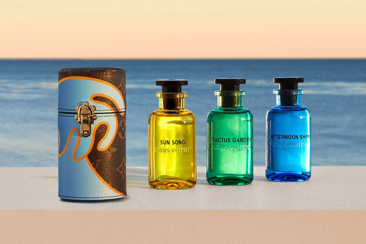 Louis Vuitton Releases Its First Unisex Fragrance Collection: The Cologne Perfumes