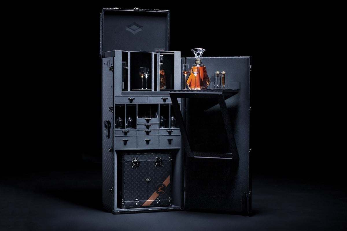 Louis Vuitton X Hennessy Trunk & Decanter 1