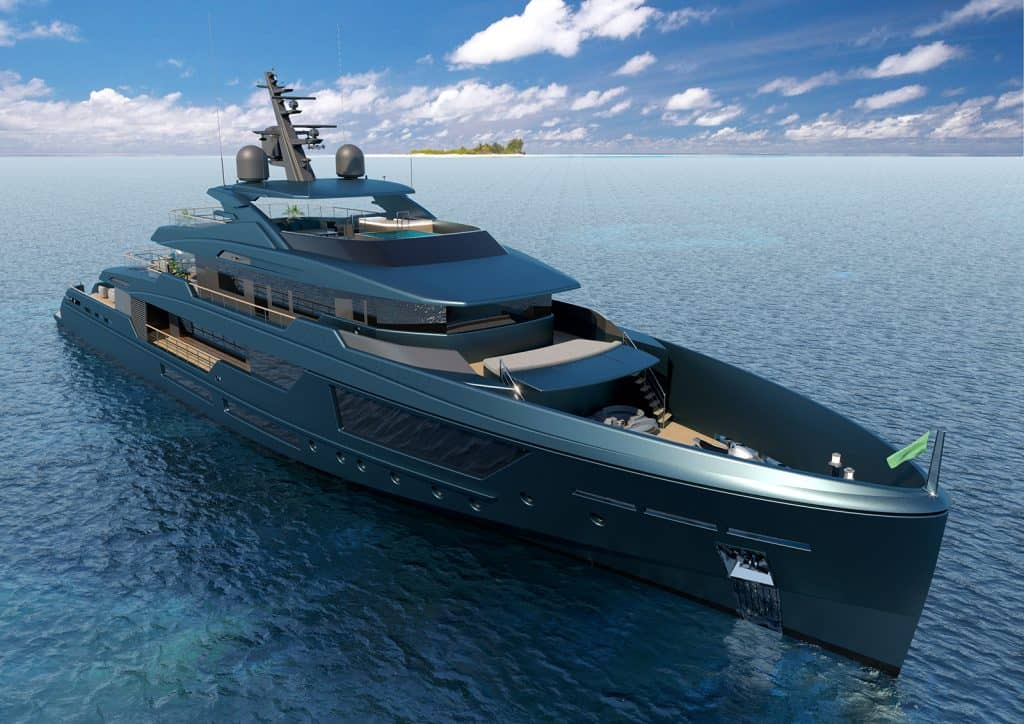 Discovery 57 is Mondomarine's Newest Super Yacht Concept and it's Impressive
