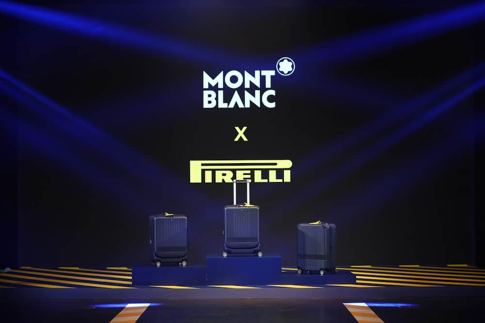 Montblanc and Pirelli Have Worked on a Stylish Trolley Collection