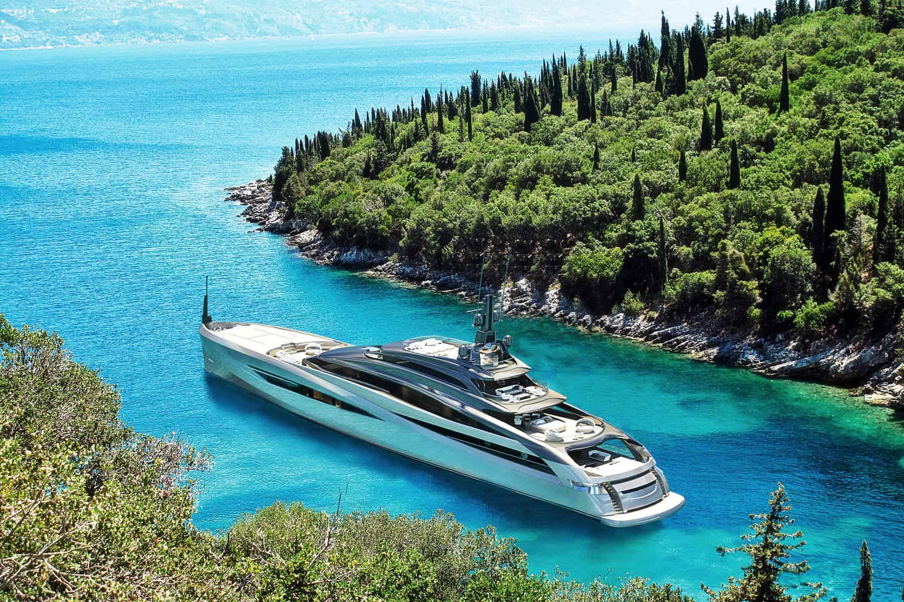 Infinity is Rossinavi's Brand New Superyacht Concept