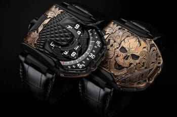 Urwerk UR T8 SKULL Watch 1