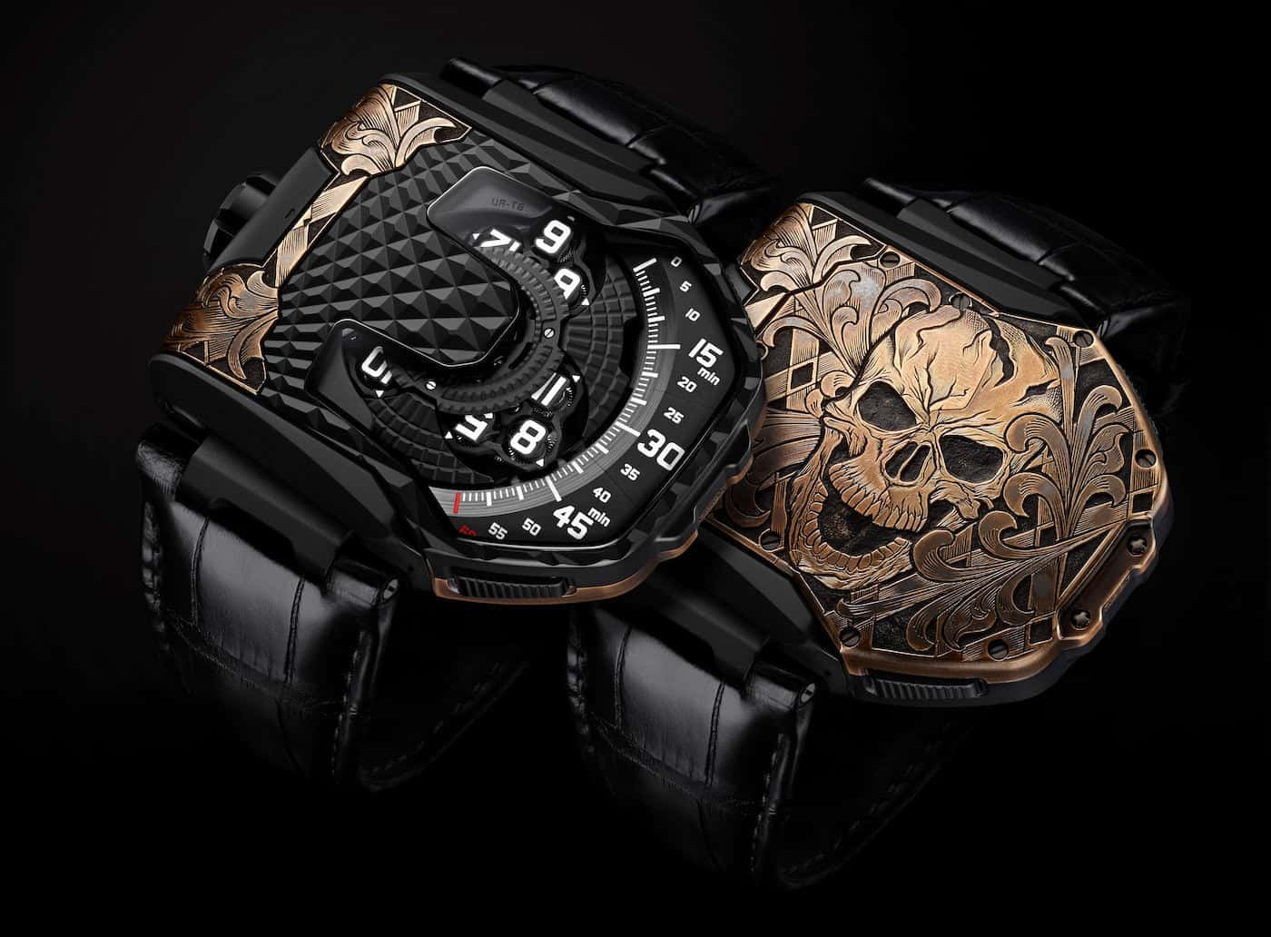 There's a New Urwerk in Town: The UR-T8 Skull Watch