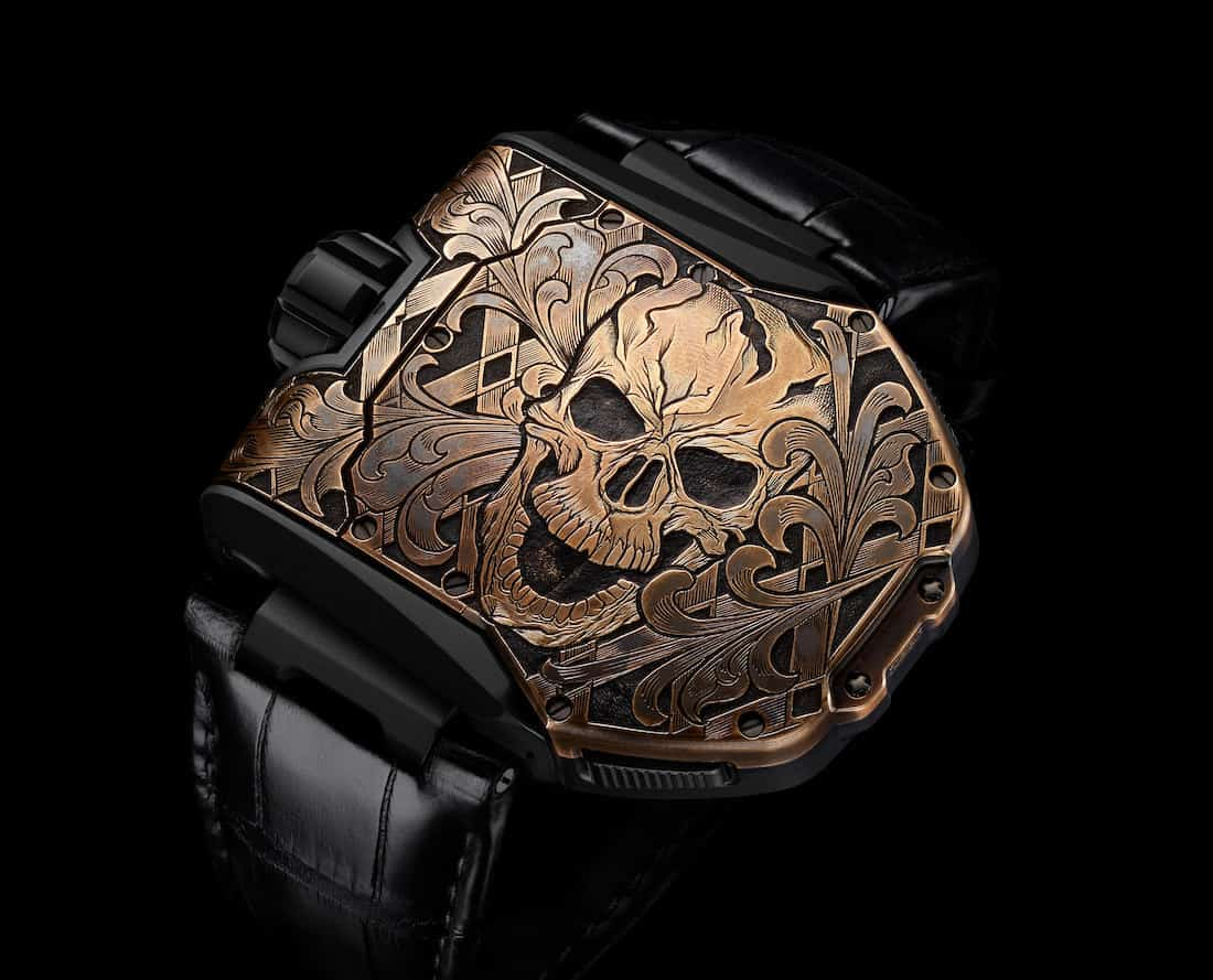 Urwerk UR T8 SKULL Watch 2
