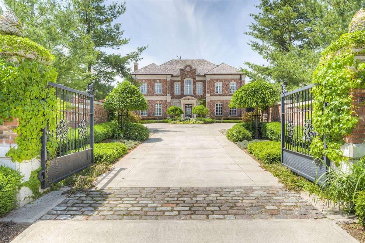 Villa Florentine is an Incredible $13.5 Million Estate in Caledon, Ontario