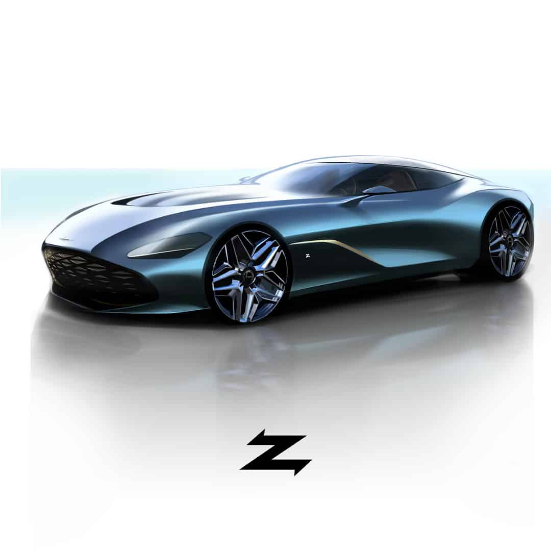The New Aston Martin DBS GT Zagato Celebrates the 100th Anniversary of the Italian Design House