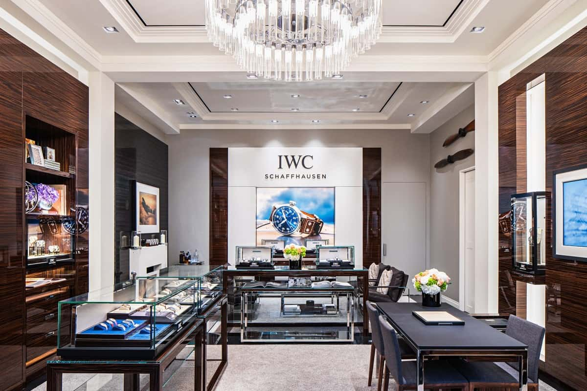 iwc boutique