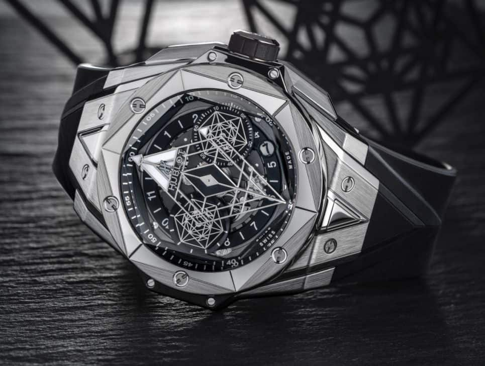 Make a Statement with the Hublot Big Bang Sang Bleu II