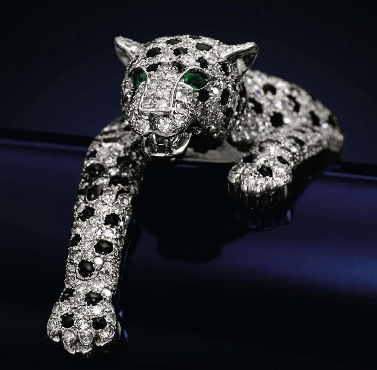 Diamond Panther Bracelet
