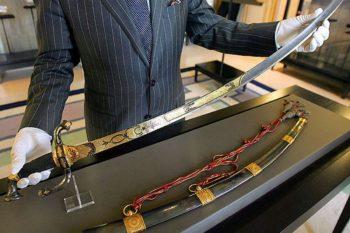 Napoleon's Gold-Encrusted Sword