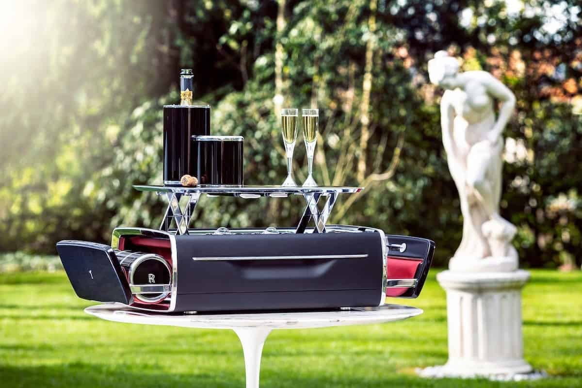 Rolls-Royce Expands its Luxury Accessory Portfolio with a $45,000 Champagne Chest