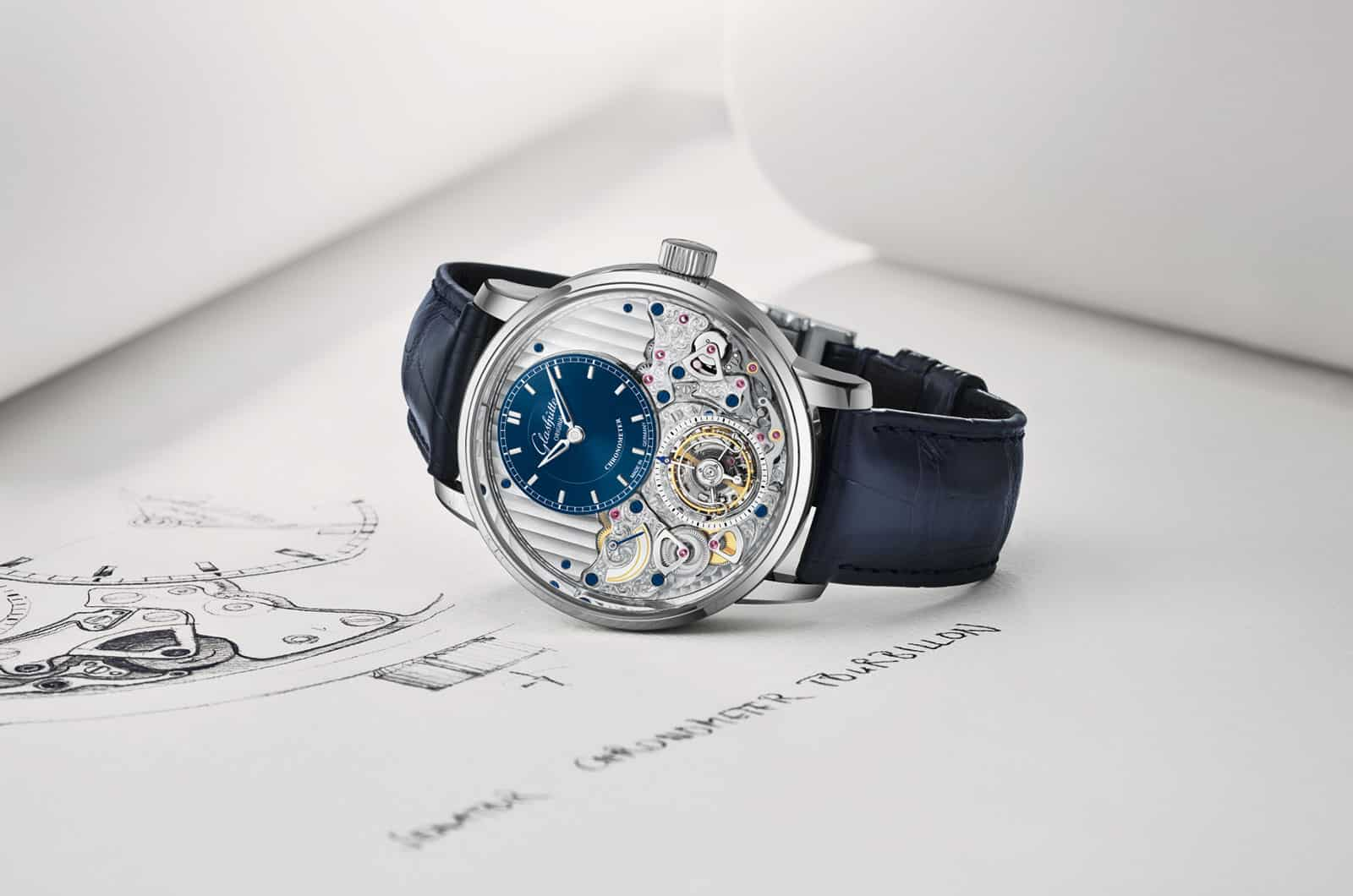 Introducing the new Glashütte Original Senator Chronometer Tourbillon