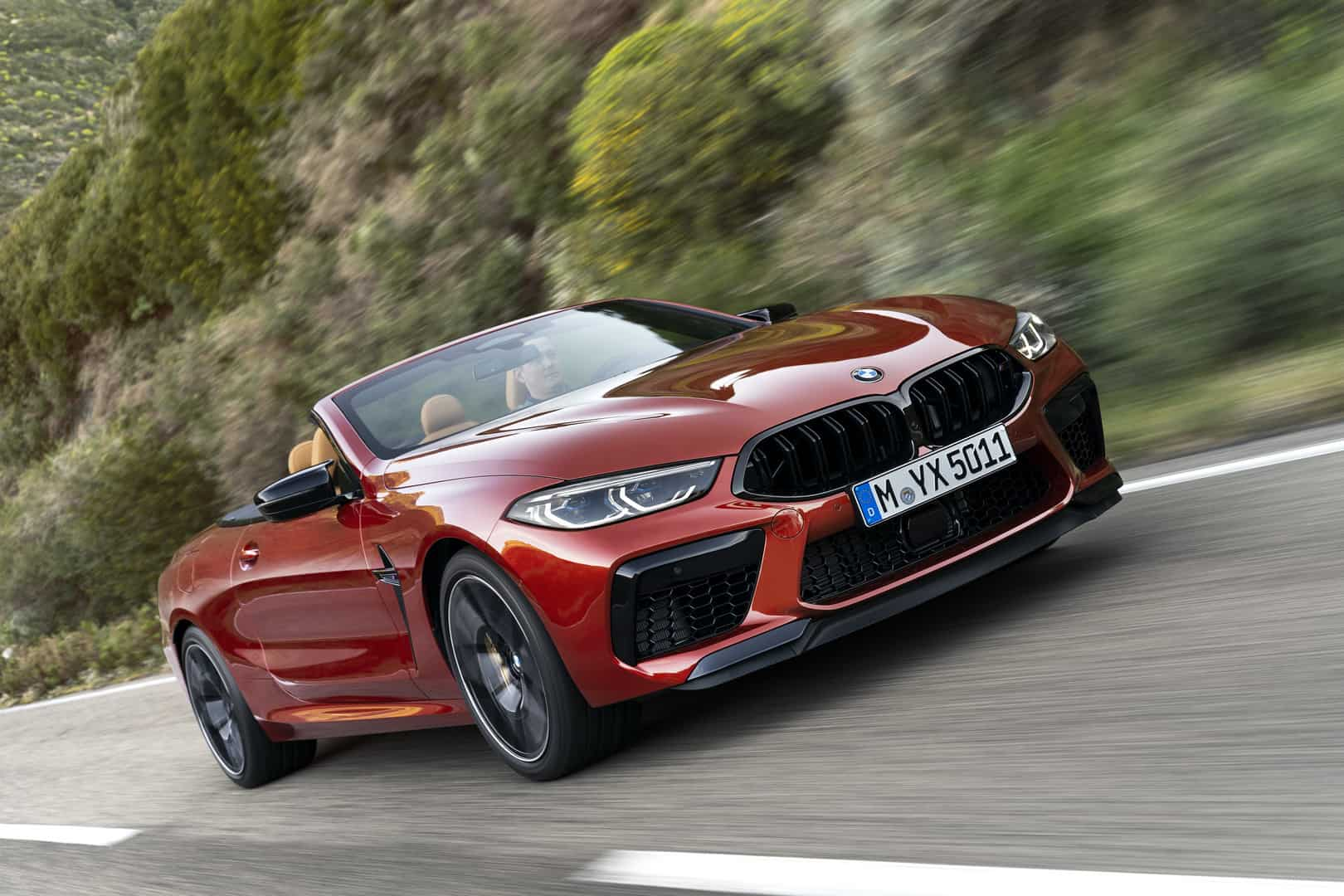 2020 BMW M8 Competition Convertible 1