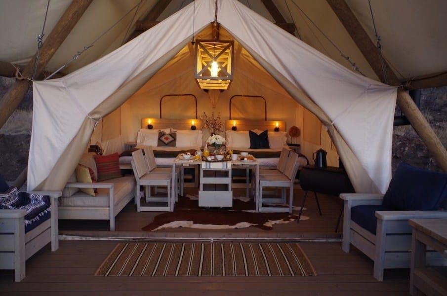 Black Tree Luxury Camping Resort Colorado 3