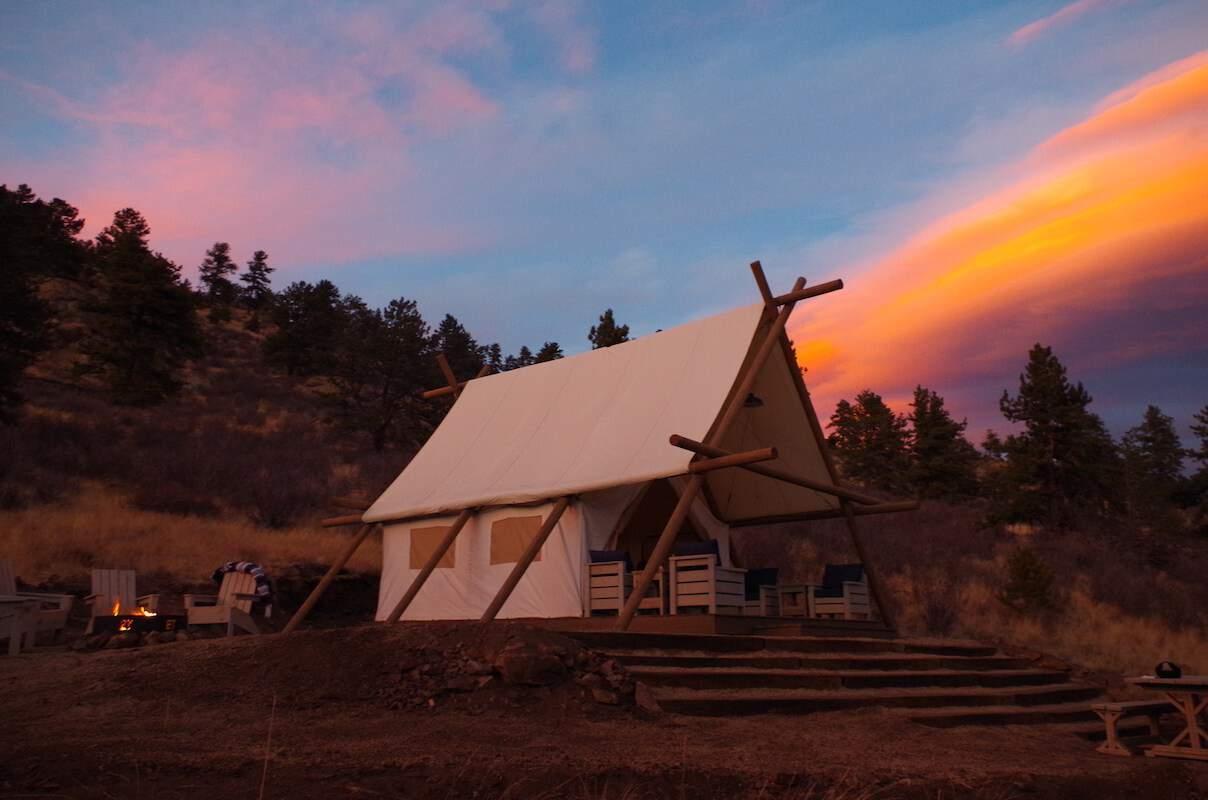 Black Tree Luxury Camping Resort Colorado 4
