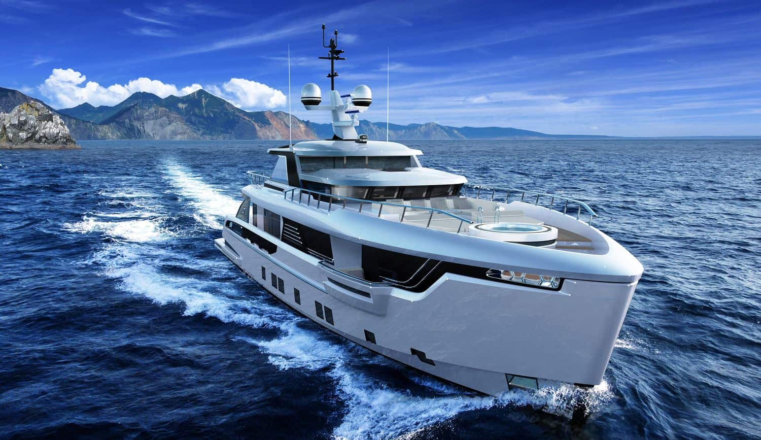 Dynamiq Yachts Revealed their First Explorer Yacht, the Global 330