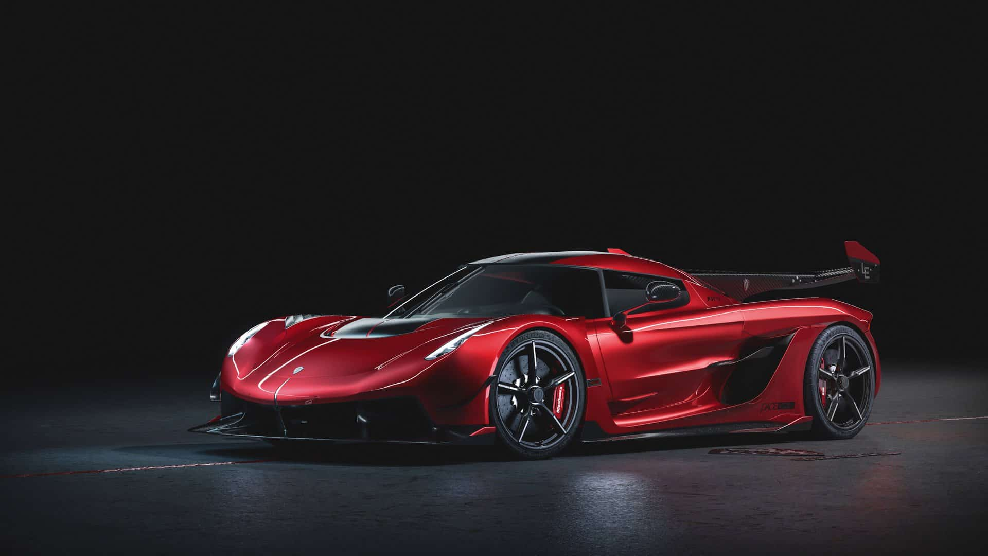 Koenigsegg Jesko Cherry Red Edition 10 1