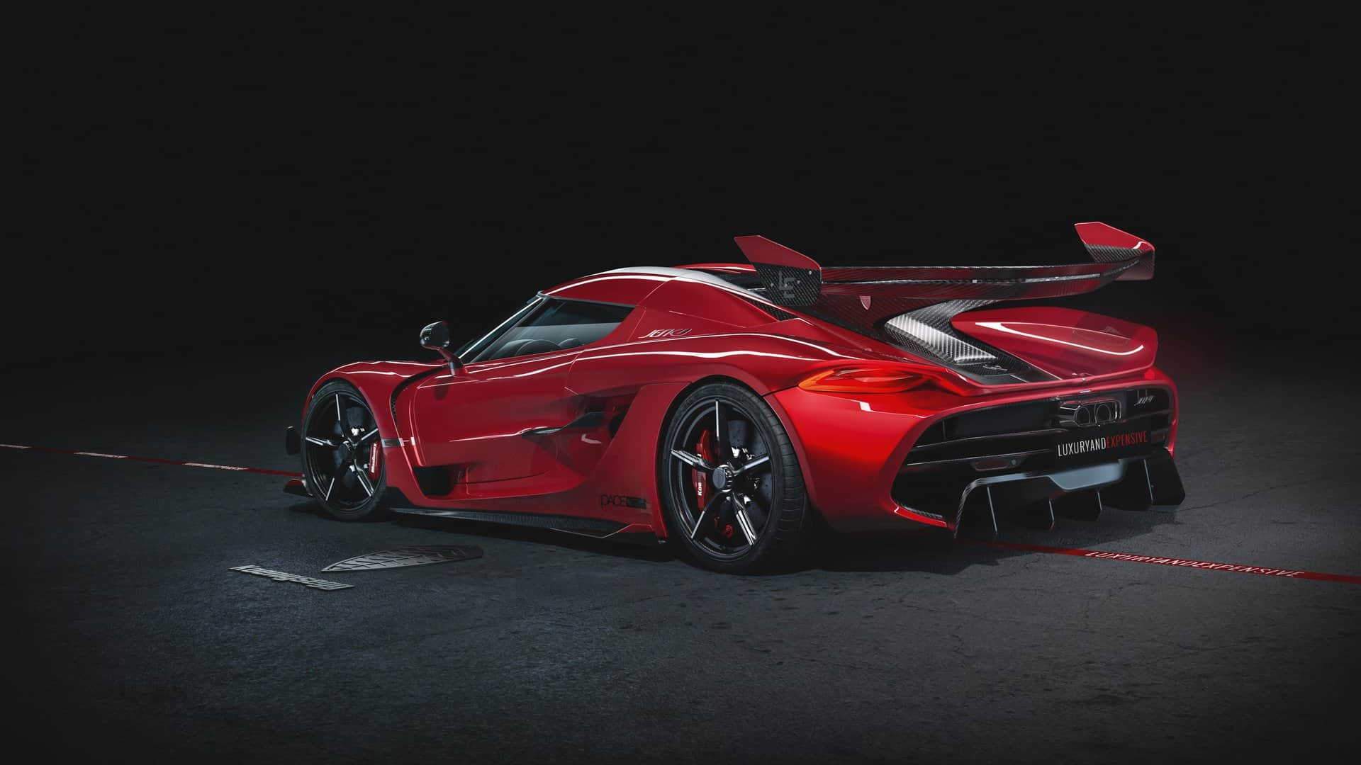 Koenigsegg Jesko Cherry Red Edition 10 2