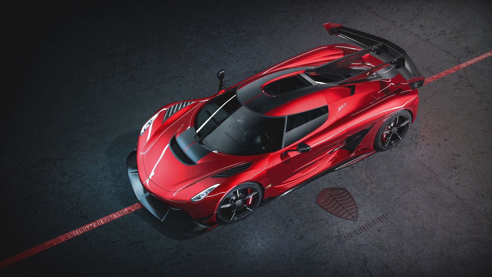 Koenigsegg Jesko Cherry Red Edition 10 3