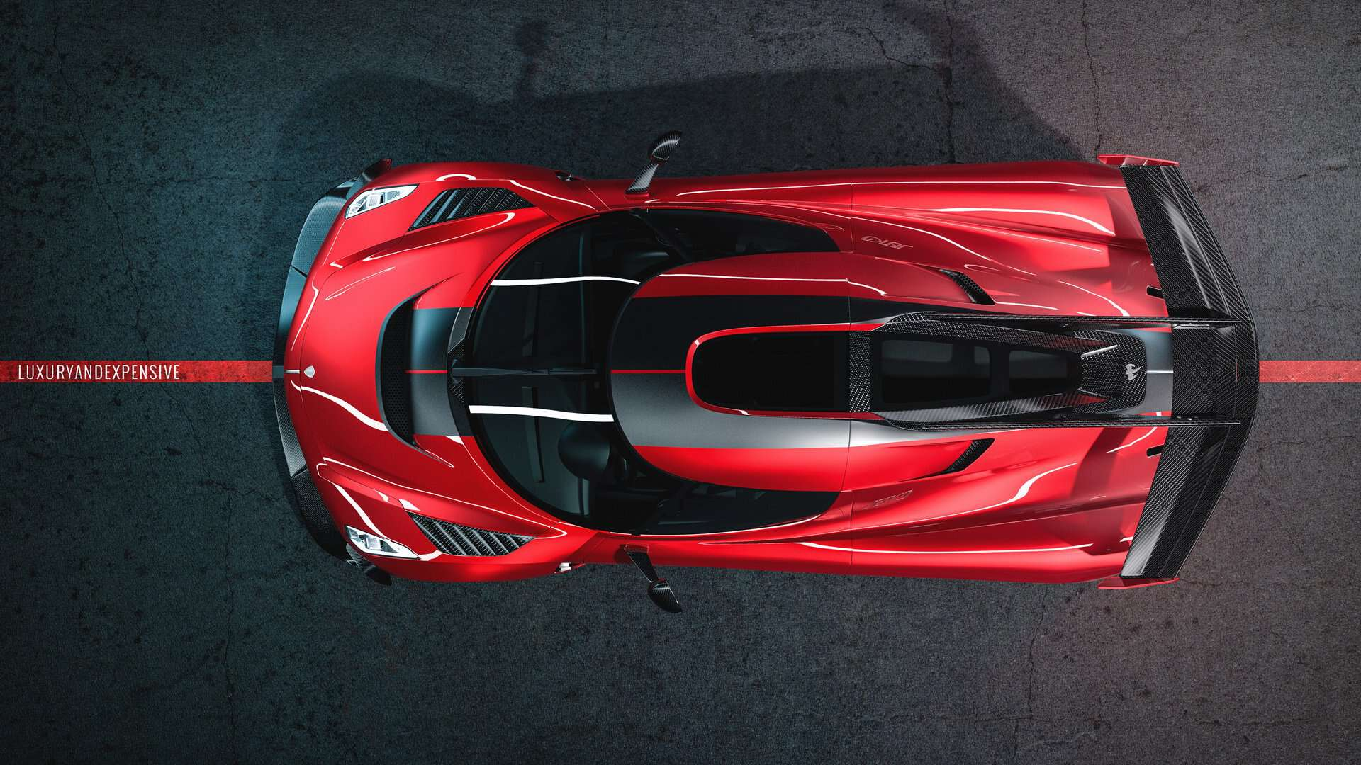 Koenigsegg Jesko Cherry Red Edition 10 4