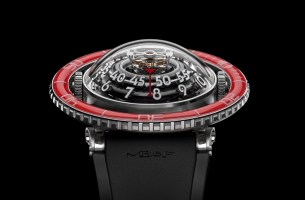 MBF HM7 Aquapod Platinum Red Watch 4
