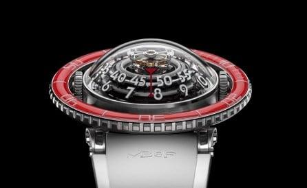 MBF HM7 Aquapod Platinum Red Watch 5