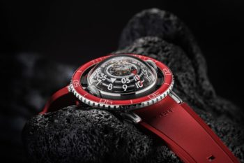 MBF HM7 Aquapod Platinum Red Watch 7