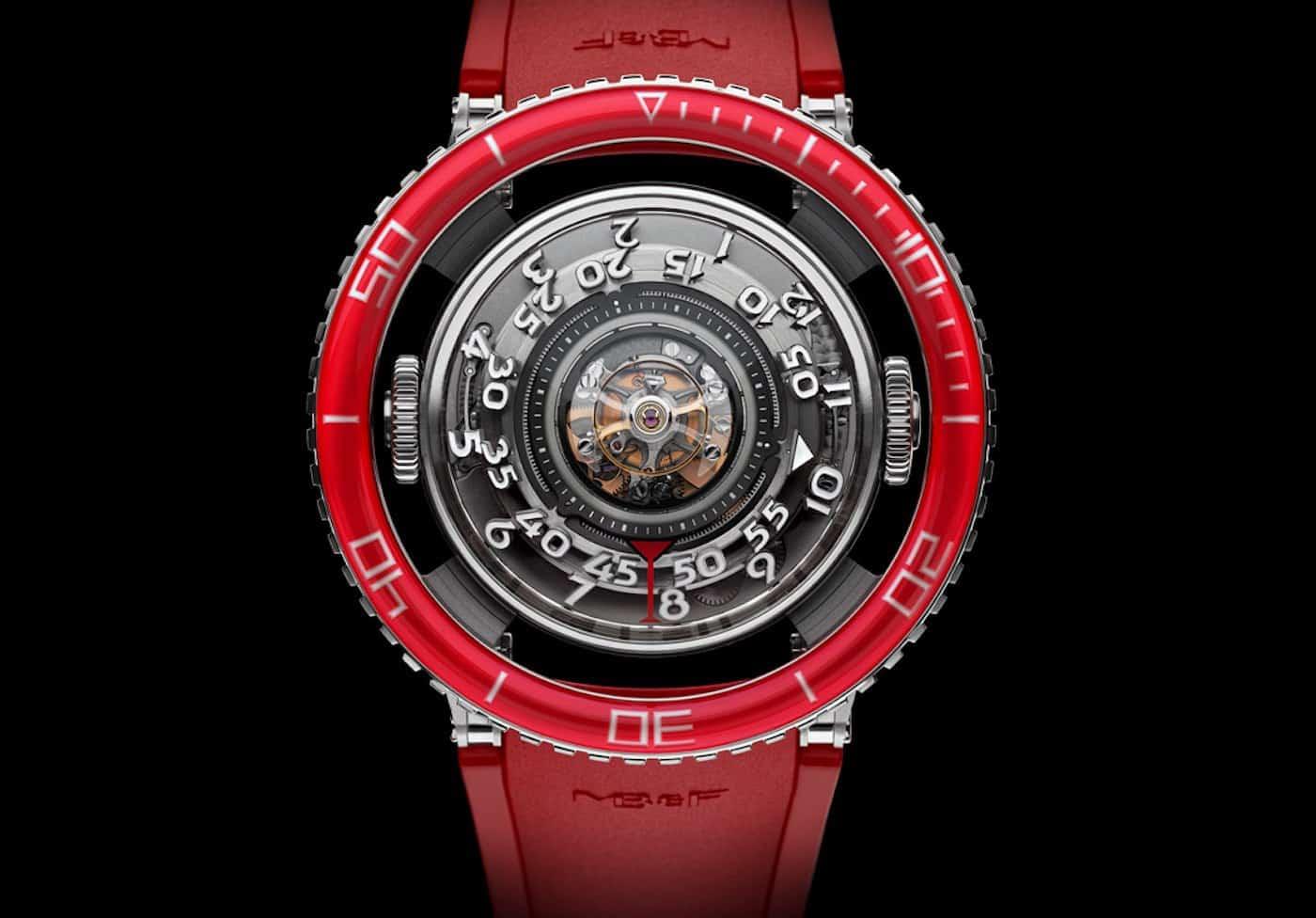 MBF HM7 Aquapod Platinum Red Watch 9