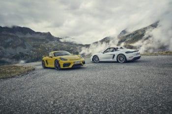 Porsche Boxster Spyder & 718 Cayman GT4 6