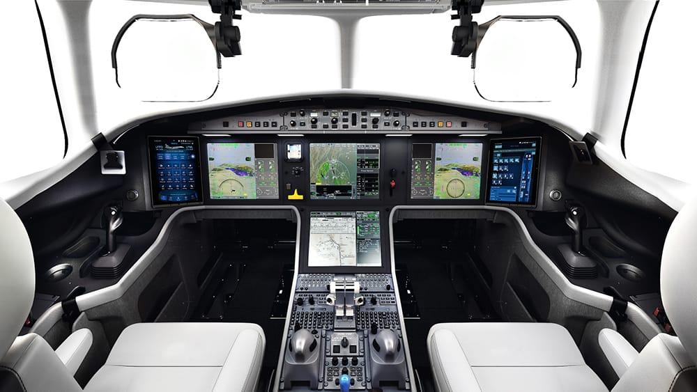EASy III Flight deck