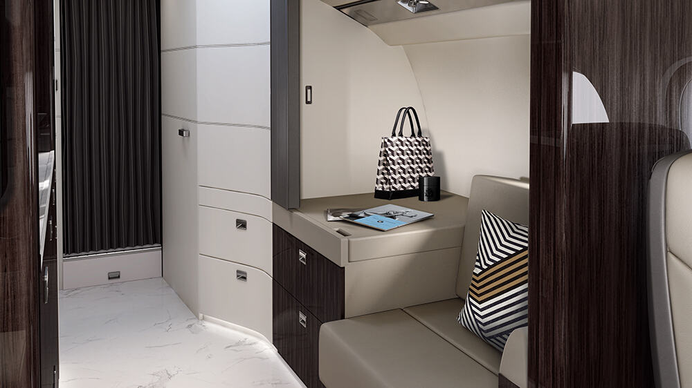 Most spacious cabin