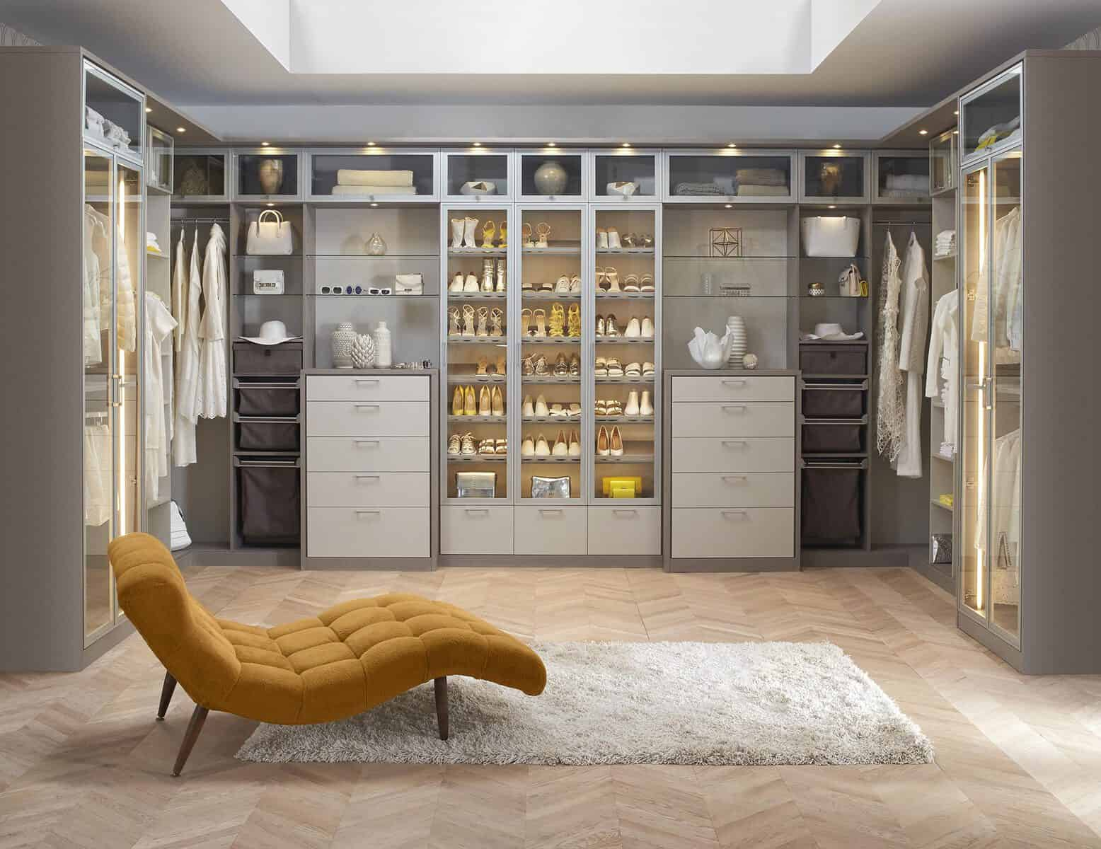 luxury wardrobe