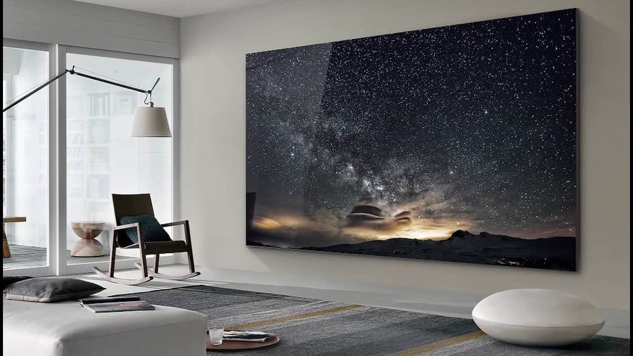 The Wall Luxury is Samsung's Largest and Most Advanced Micro Led TV