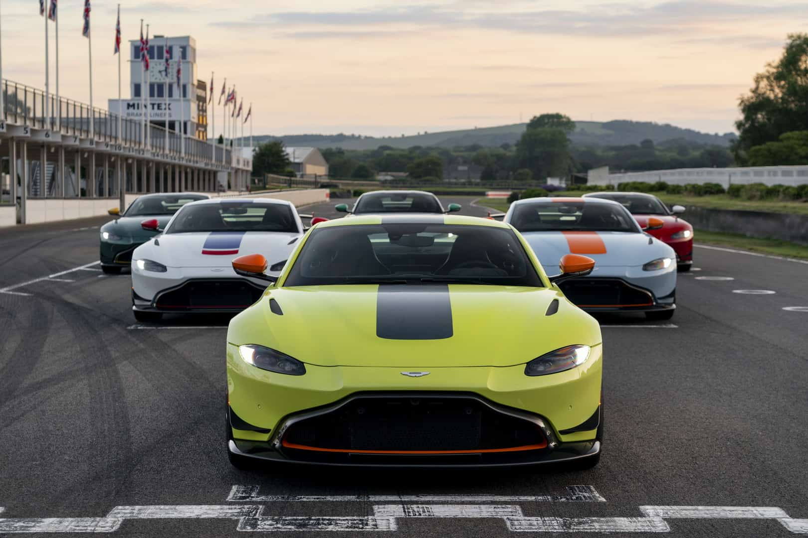 Aston Martin Unveiled The New Vantage Heritage Racing Editions