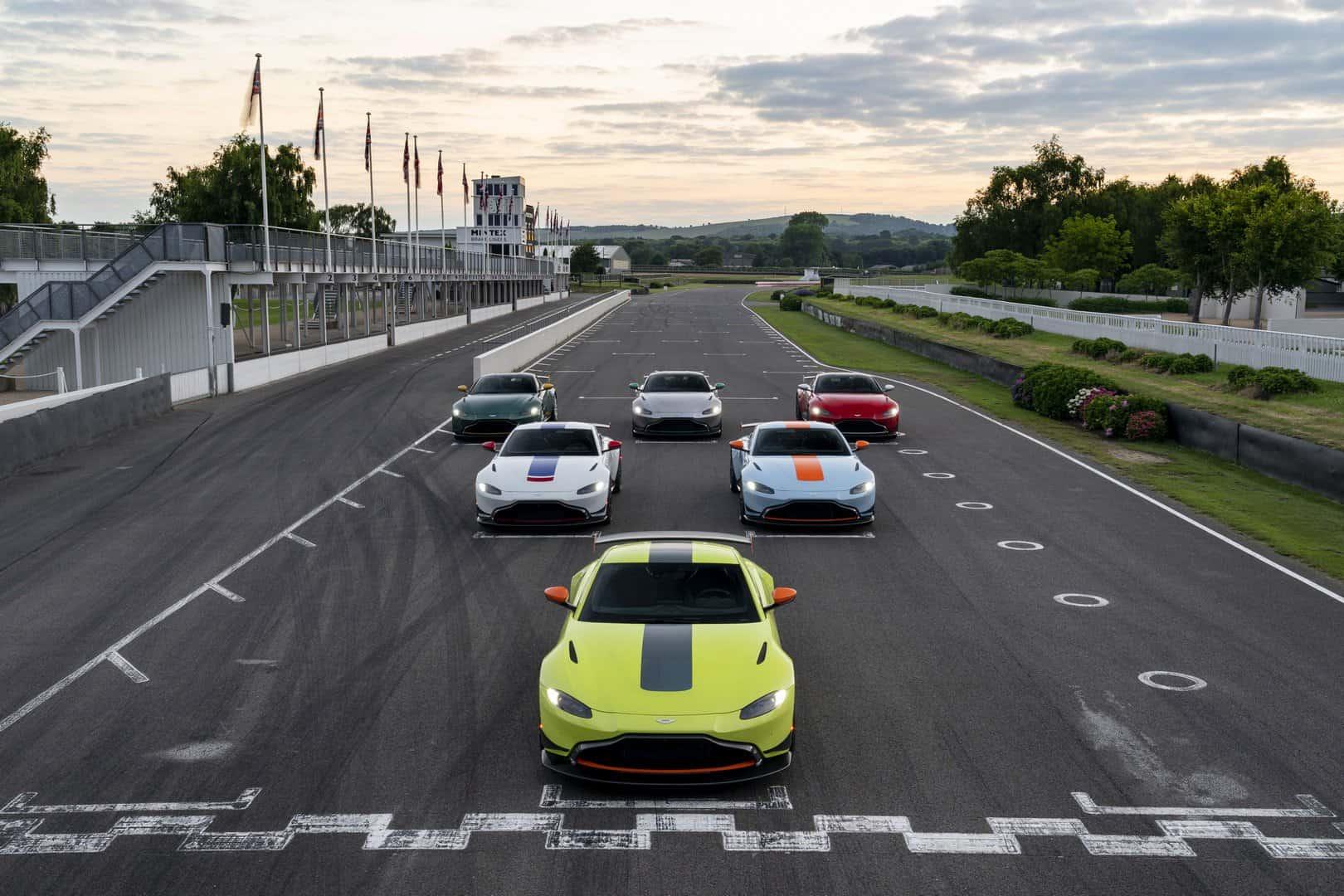 2019 aston martin vantage heritage racing editions 12