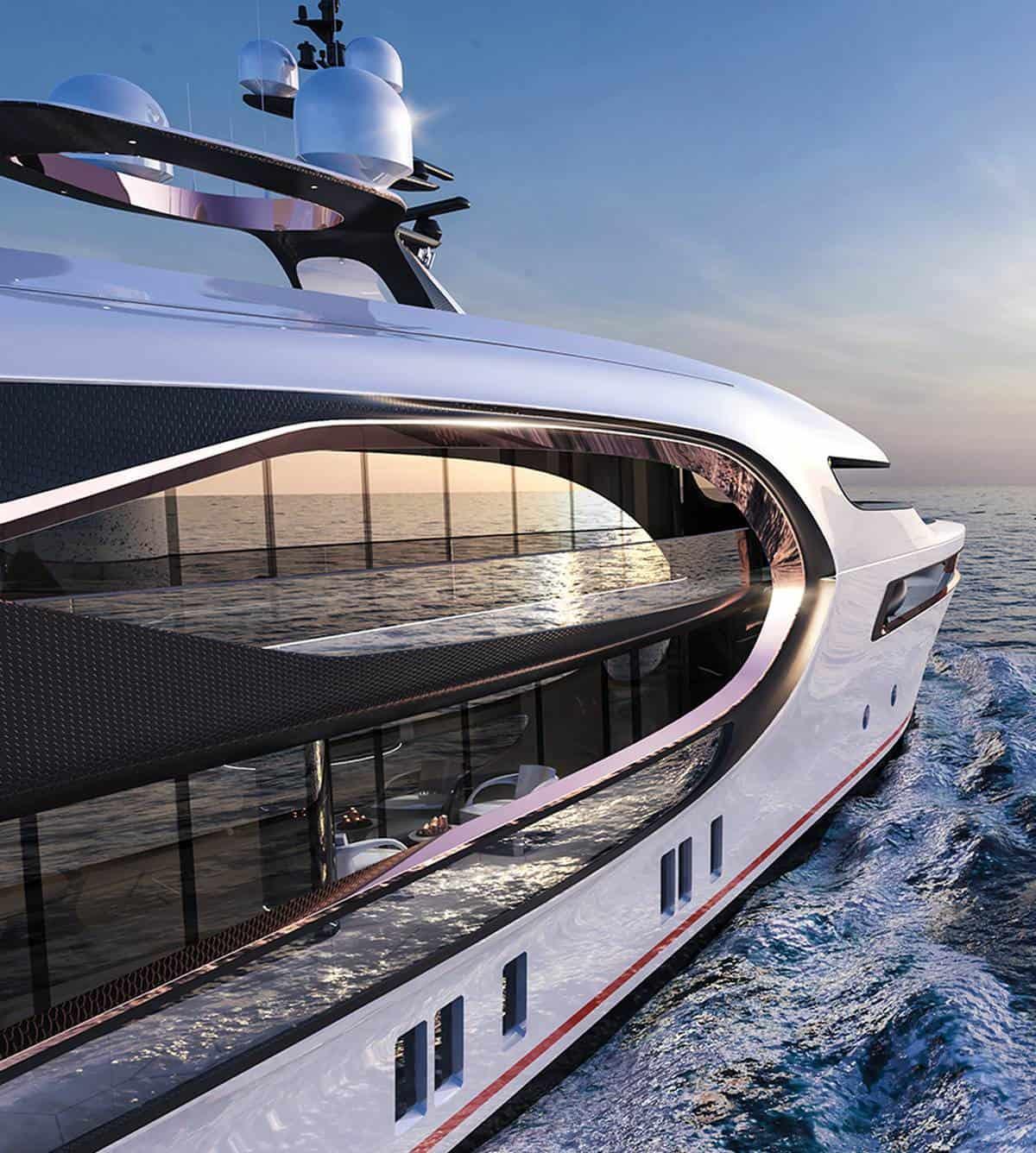 56m hybrid yacht Vripack Nobiskrug 1