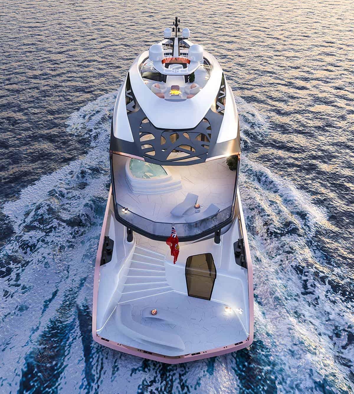 56m hybrid yacht Vripack Nobiskrug 4
