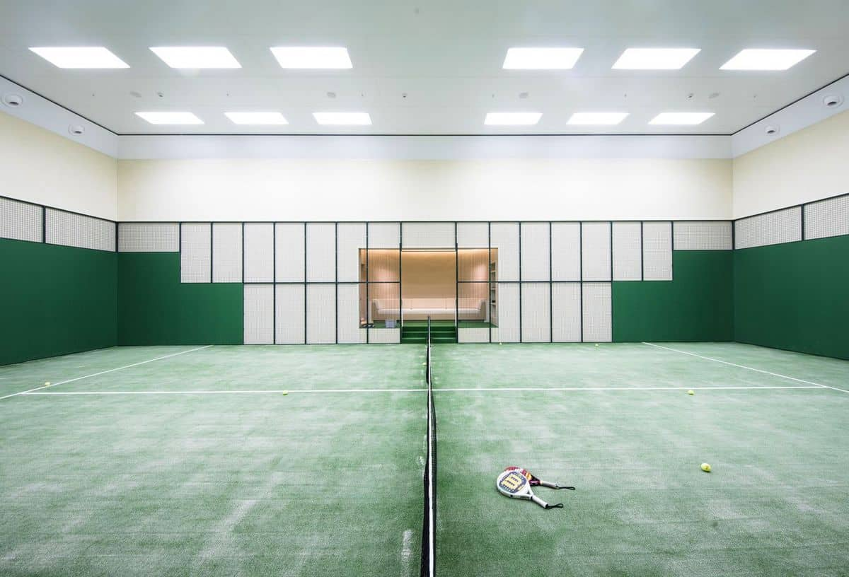 Aviva tennis court