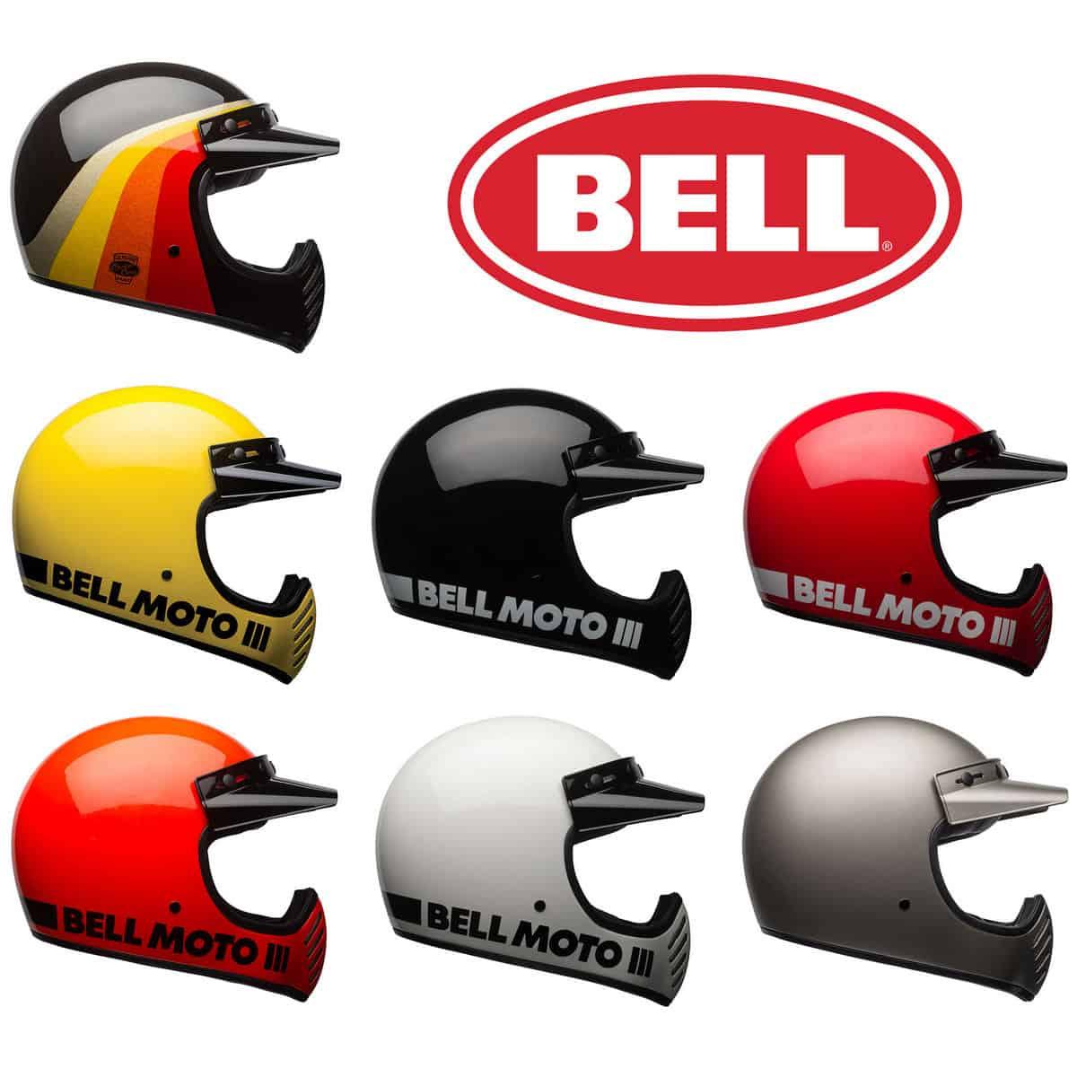 Bell Moto-3 Motorcycle Helmet