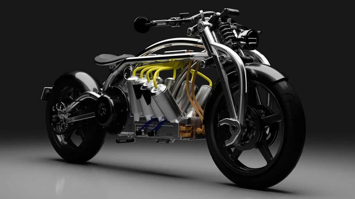 Curtiss Motorcycles' 2020 Zeus Will Have Batteries Styled like the Cylinders of a V8 Engine