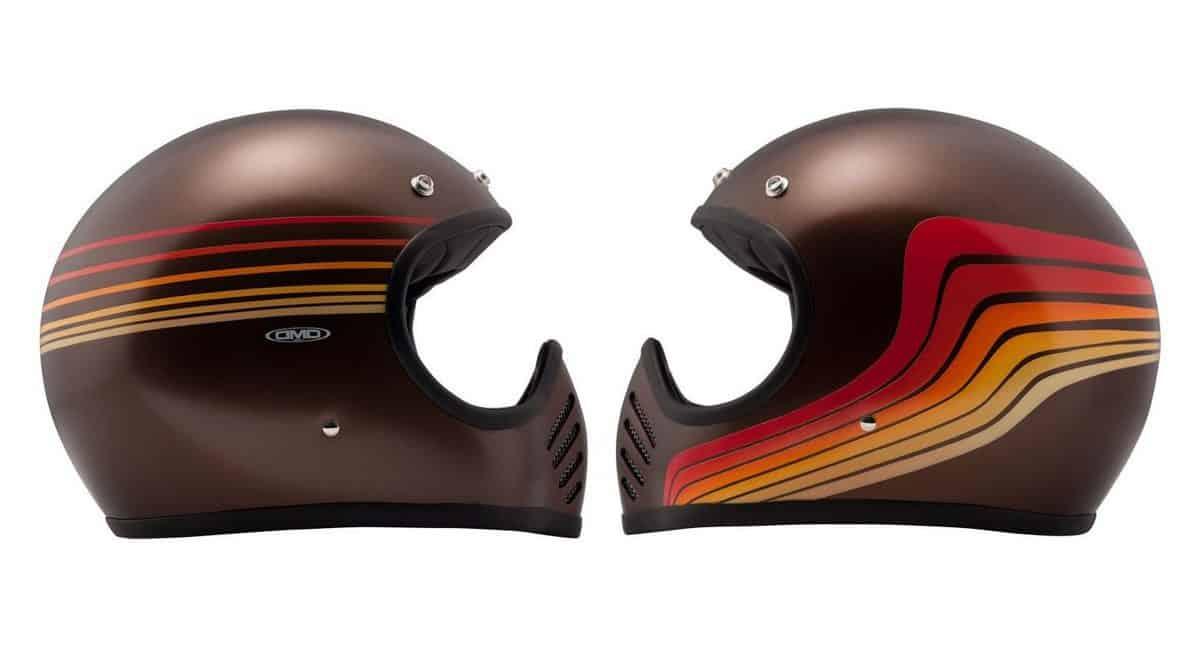 DMD Seventy Five Waves Motorcycle Helmet
