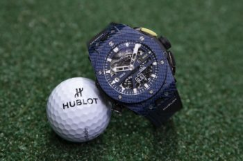 Hublot Big Bang Unico Golf Carbon Blue Watch 2