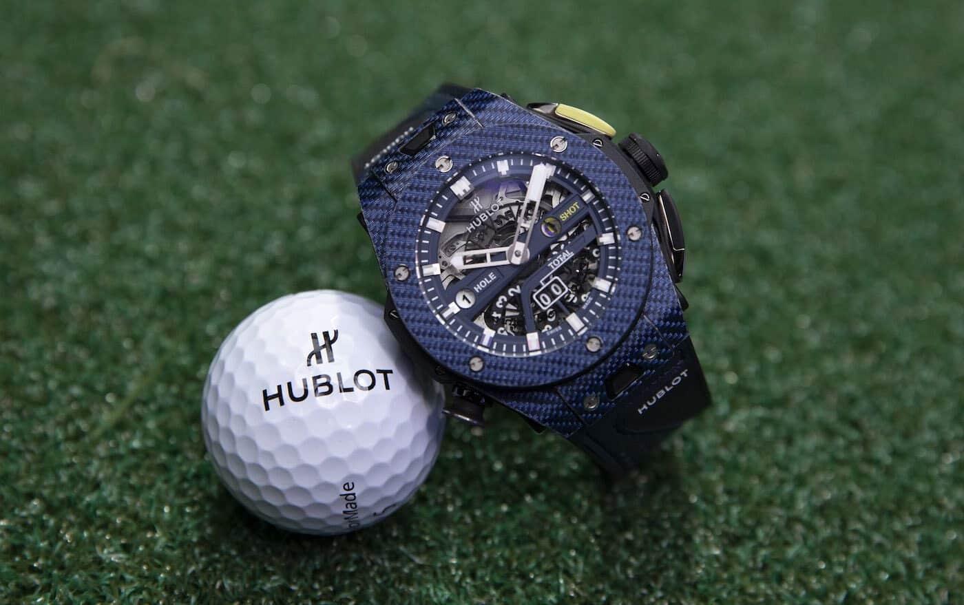 Hublot Big Bang Unico Golf Carbon Blue Watch 2