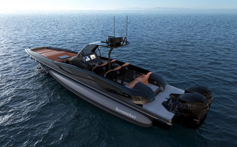 Limited Edition Sunseeker Hawk 38 2