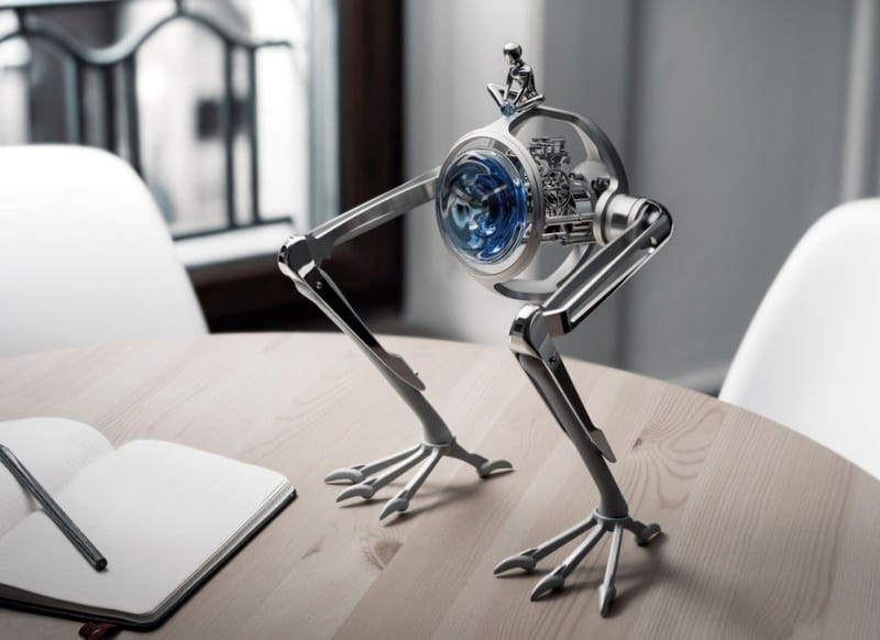Tom & T-Rex is MB&F & L'Epée 1839's Timekeeping Marvel for Only Watch