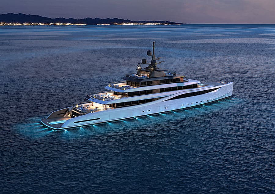 The 78m Slipstream is the Newest Superyacht Concept from Nauta Design